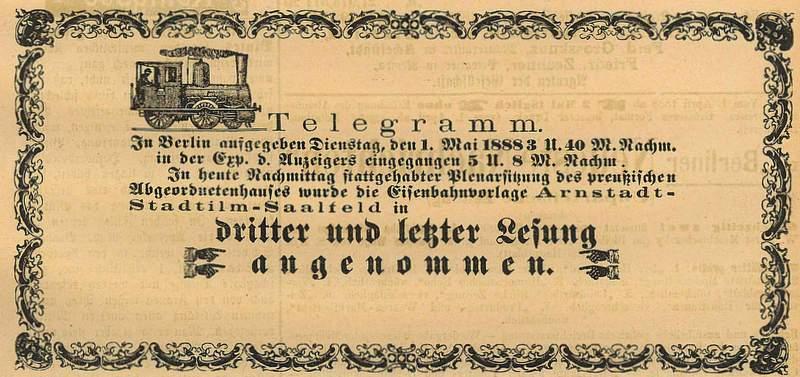 Anzeiger vom 02.05.1888