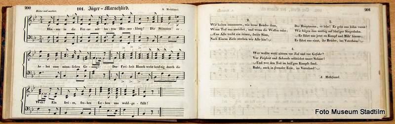 Lieder- und Commersbuch